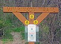 Wilkinson Memorial Trail Route 9D trailhead sign.jpg