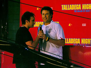 Talladega Nights: The Ballad of Ricky Bobby - Ferrell at the premiere of Talladega Nights, September 12, 2006.