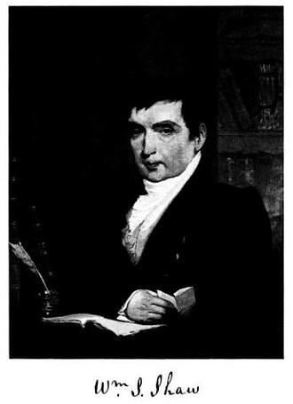 Boston Athenæum - William Smith Shaw, librarian (c. 1807-1823)