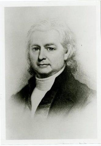 William Allen (biographer) - Image: William Allen third president of Bowdoin College