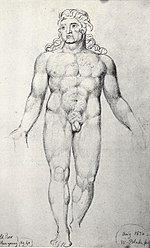 William Blake, Old Thomas Parr when Young c 1820 300 x 185 mm.jpg
