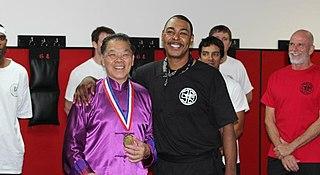 William Cheung Chinese kung fu practitioner