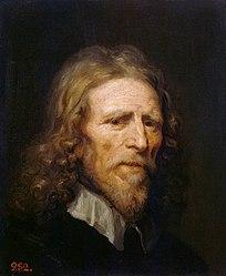 William Dobson: Portrait of Abraham van der Doort
