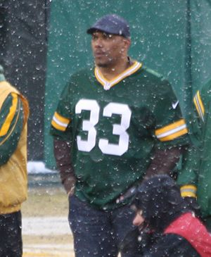 William Henderson (American football) - Henderson in 2013 at Green Bay after his retirement