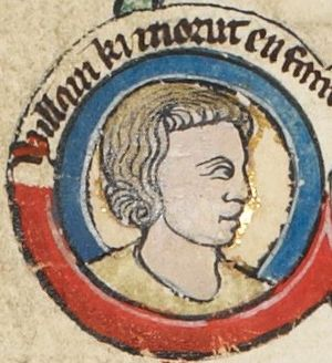 William IX, Count of Poitiers - Image: William IX, Count of Poitiers