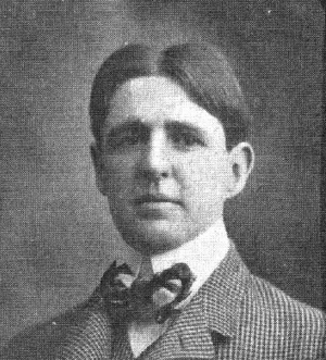 William L. Allen - Allen from the 1900 Michiganensian