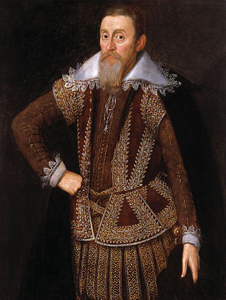 John de Critz - William Parker, 4th Baron Monteagle. Attributed to John de Critz, c.1615.