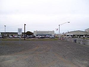 William R. Fairchild International Airport - Main terminal
