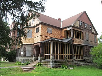 National Register of Historic Places listings in Berkshire County, Massachusetts - Image: William Russell Allen House, Pittsfield MA