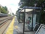 Williams Bridge MNRR Station; Wassaic-bound TVM Shelter.jpg