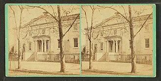 Wills Eye Hospital - Image: Wills Hospital, Philadelphia, by Newell, R., d. 1897