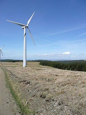 English: Wind turbine