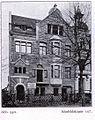 Wohnhaus Ahnfeldstraße 107 in Düsseldorf, erbaut vor 1904, Architekt Hermann vom Endt, Straßenseite.jpg
