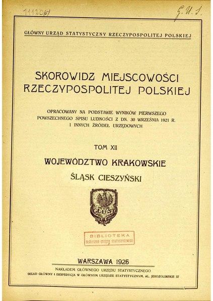 File:Woj.krakowskie i Sląsk Cieszynski miejscowości.pdf