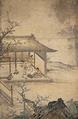 Women spinning and weaving (Sounji Hakone).png