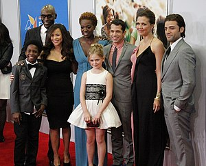 Won't Back Down (film) - The cast of the movie premiere in New York.
