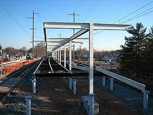 Woodbridge station (NJ Transit) - Image: Woodbridge station 04