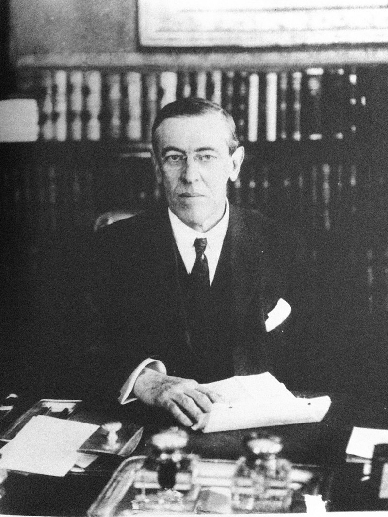 Woodrow Wilson, New Jersey Governor - 1911.jpg