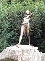 Wrocław. Polująca Diana w Parku Szczytnickim na Skwerze Zbyszka Cybulskiego.jpg
