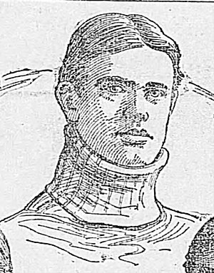 1899 College Football All-Southern Team - Wild Bill Claiborne.