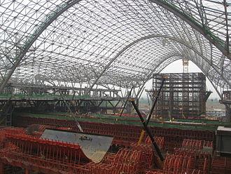Wuhan railway station - Image: Wuhan railway station