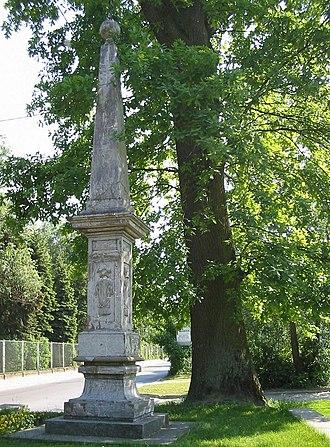 Karol Ferdynand Vasa - Image: Wyszkow Obelisk Wazow