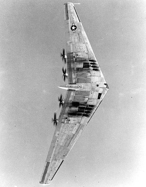 Les géants des airs : Le Northrop YB-49 [Italeri 1/72] 470px-XB35-9_300
