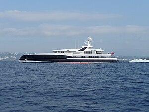 Predator (yacht) - Image: Yacht PREDATOR