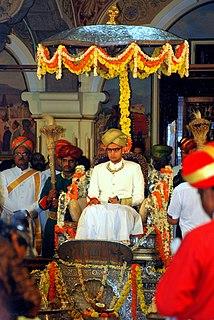 Yaduveer Krishnadatta Chamaraja Wadiyar Maharaja of Mysore