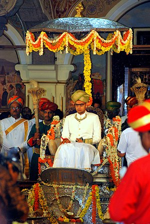 Wadiyar dynasty - Image: Yaduveer Krishnadatta Chamaraja Wadiyar