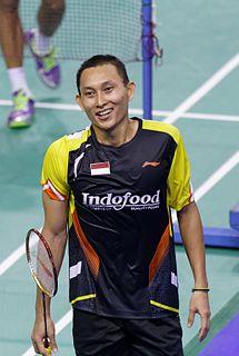 Sony Dwi Kuncoro Indonesian badminton player
