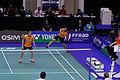 Yonex IFB 2013 - Eightfinal - Michael Fuchs - Birgit Michels — Sudket Prapakamol - Saralee Thungthongkam 04.jpg