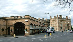 York railway station and Royal York Hotel - Ap...