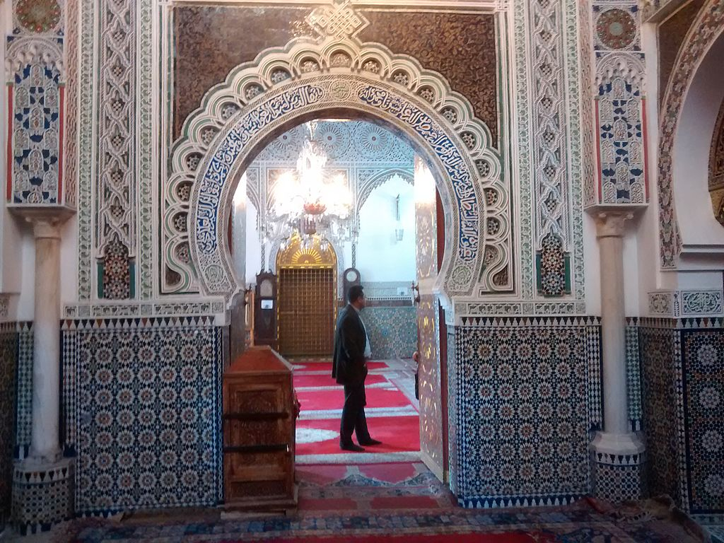 Sanctuaire de Moulay Idriss à Fès - Photo de Mr. Granger.