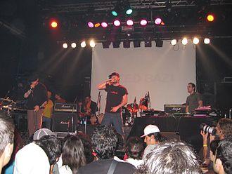 Zedbazi - Zedbazi in the Iranian Intergalactic Music Festival (October 22, 2006).