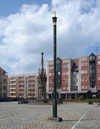 Zerbst - Market place