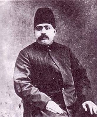"""Amanollah Khan Zia' os-Soltan - Amanollah Khan """"Zia' os-Soltan"""", as older man around 1900."""