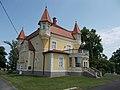 Zichy Mansion (NW) in Fonyód, 2016 Hungary.jpg