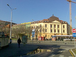 Academy of Performing Arts in Bratislava - Image: Zochova 1