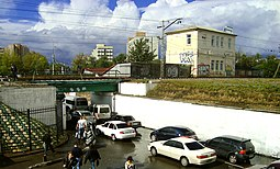 Zsaritsyno station Bridges 2010.jpg