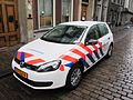Zuid Holland Zuid police car VW Golf 6.JPG