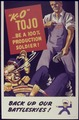 """K.O. "" ToJo...Be a 100 Percent Production Soldier - NARA - 534412.tif"