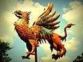 """Ruler of the Earth and Sky"" Griffin Weathervane.jpg"