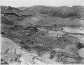 """Sliding ground on the east forebay slope. Shovel working at elevation 970."" - NARA - 294335.tif"