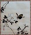 'Butterfly and Wild Rose' by Shibata Zeshin, 1885, Honolulu Museum of Art, 4658.1.JPG
