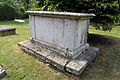 'Church of St Andrew' Greensted, Ongar, Essex England - tomb at northwest.JPG