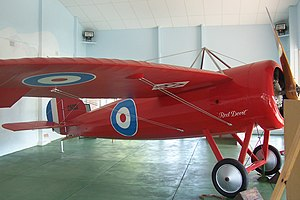 Minlaton, South Australia - Image: 'Red Devil' plane at Minlaton