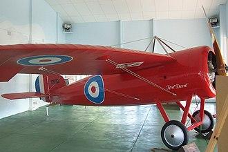 Minlaton, South Australia - Image: 'Red Devil' plane at Minlaton