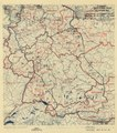 (July 1, 1945), HQ Twelfth Army Group situation map. LOC 2004629193.tif