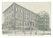 Bronx-Lebanon Hospital Center - Wikipedia